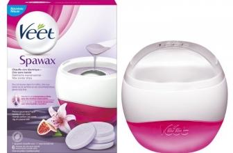 Spawax Veet : Avis / test du plus connu des chauffes-cire électriques